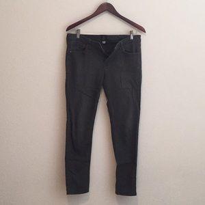 Skinny dark grey jeans